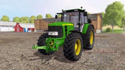 John Deere 6830 Premium для Farming Simulator 2015