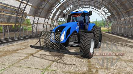 New Holland T8.270 v3.5 для Farming Simulator 2017