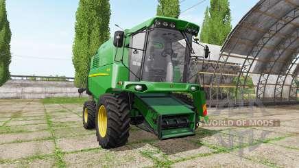 John Deere W330 v1.1 для Farming Simulator 2017