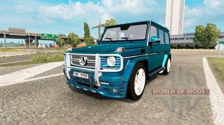 Mercedes-Benz G 65 AMG (W463) для Euro Truck Simulator 2