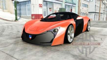 Marussia B2 для BeamNG Drive