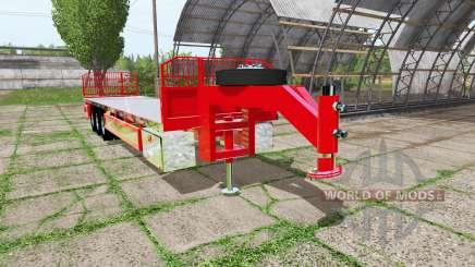Bale trailer для Farming Simulator 2017