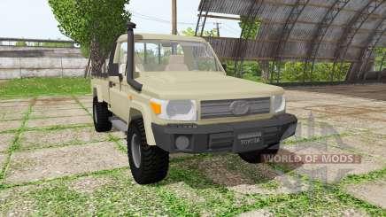 Toyota Land Cruiser Cab Chassis (J79) v1.3.1 для Farming Simulator 2017