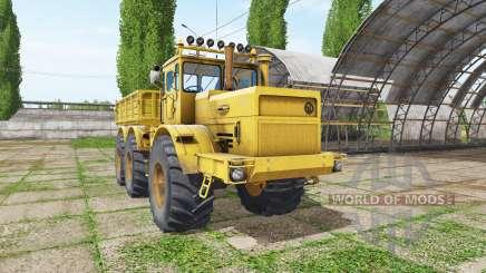 Кировец К 701 6x6 самосвал v1.2 для Farming Simulator 2017