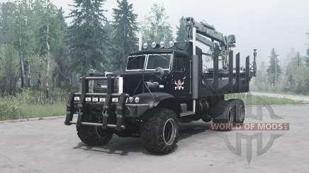 КрАЗ 255 В1 Крокодил для MudRunner