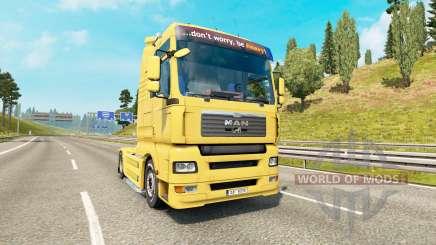 MAN TGA v1.4 для Euro Truck Simulator 2