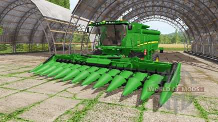 John Deere S680i для Farming Simulator 2017
