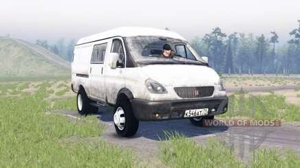 ГАЗ 2705 ГАЗель для Spin Tires