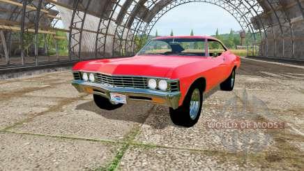 Chevrolet Impala 1967 для Farming Simulator 2017