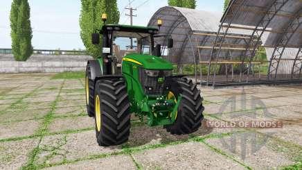 John Deere 6250R v4.1 для Farming Simulator 2017