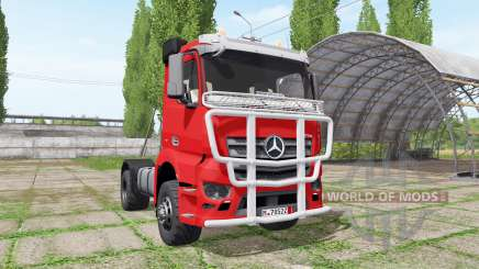 Mercedes-Benz Antos для Farming Simulator 2017