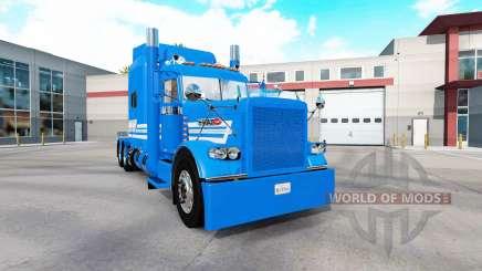 Скин Bun Badmind на тягач Peterbilt 389 для American Truck Simulator