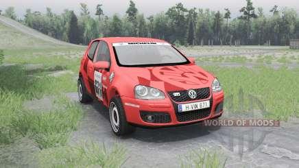 Volkswagen Golf V GTI для Spin Tires