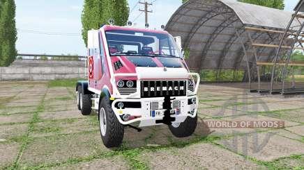Bremach T-Rex Double Cab marins-pompiers для Farming Simulator 2017