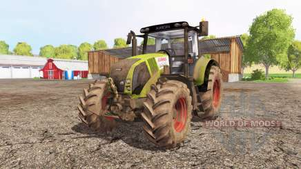 CLAAS Axion 820 front loader для Farming Simulator 2015