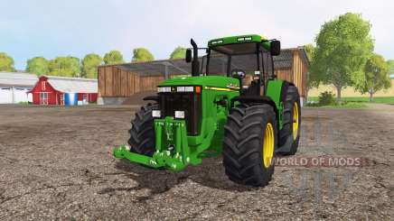 John Deere 8110 для Farming Simulator 2015