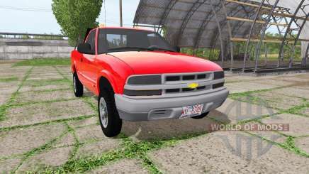 Chevrolet S-10 Regular Cab для Farming Simulator 2017
