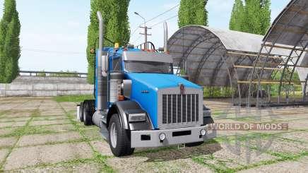 Kenworth T800 для Farming Simulator 2017