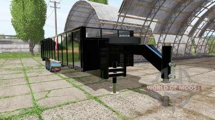 Fliegl tipper trailer для Farming Simulator 2017
