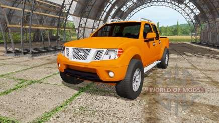 Nissan Frontier Pro-4X Crew Cab (D40) 2012 для Farming Simulator 2017