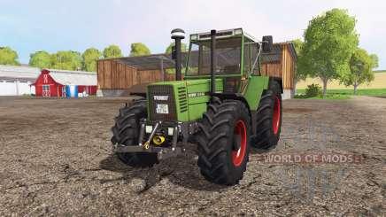 Fendt Favorit 615 LSA Turbomatik для Farming Simulator 2015