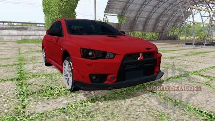 Mitsubishi Lancer Evolution X для Farming Simulator 2017