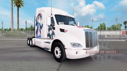 Скин Nico на тягач Peterbilt 579 для American Truck Simulator