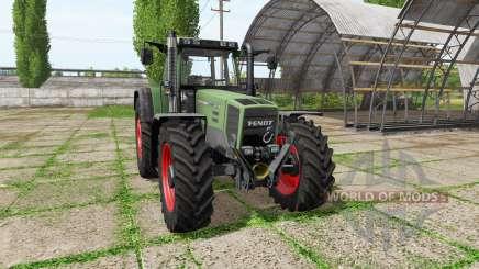 Fendt Favorit 924 для Farming Simulator 2017