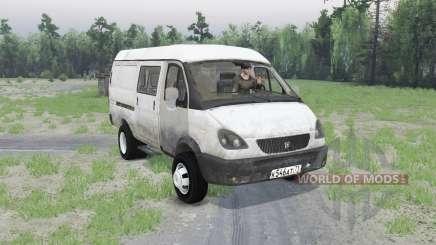 ГАЗ 2705 ГАЗель v1.01 для Spin Tires