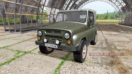 УАЗ 469 v1.2 для Farming Simulator 2017