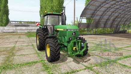 John Deere 4955 v2.1 для Farming Simulator 2017