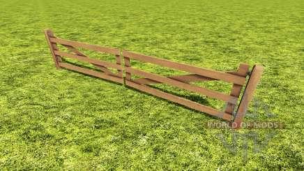 Анимированные ворота для Farming Simulator 2017
