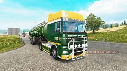Painted truck traffic pack v3.1 для Euro Truck Simulator 2