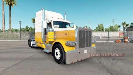 Скин Cream Gold на тягач Peterbilt 389 для American Truck Simulator