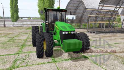 John Deere 7195J для Farming Simulator 2017