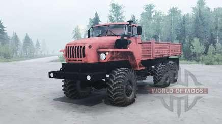 Урал 4320-41 для MudRunner