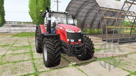 Massey Ferguson 8735 для Farming Simulator 2017