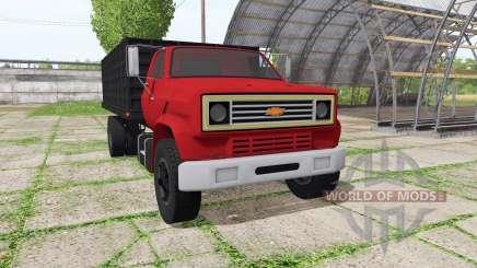 Chevrolet C70 dump v1.2.1 для Farming Simulator 2017