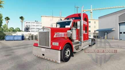 Скин One of One на тягач Kenworth W900 для American Truck Simulator
