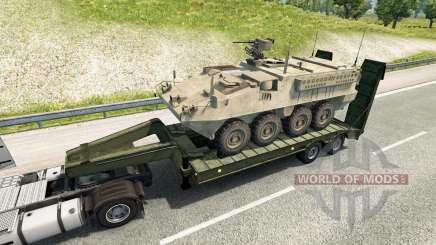 Military cargo pack v2.2 для Euro Truck Simulator 2