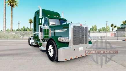 Скин DarkGreen на тягач Peterbilt 389 для American Truck Simulator