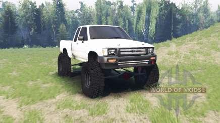 Toyota Hilux Xtra Cab 1994 для Spin Tires