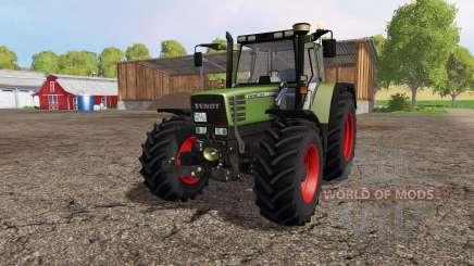 Fendt Favorit 515C front loader для Farming Simulator 2015
