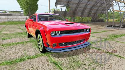 Dodge Challenger SRT Hellcat (LC) для Farming Simulator 2017