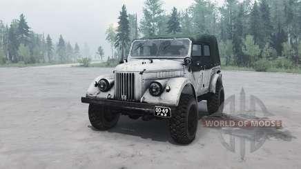 ГАЗ 69А для MudRunner