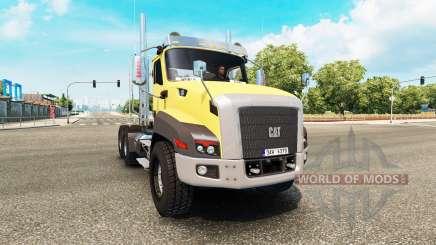Caterpillar CT660 v2.0 для Euro Truck Simulator 2