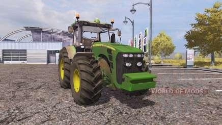 John Deere 8345R v2.0 для Farming Simulator 2013