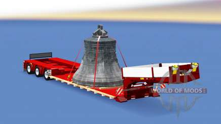 Doll Vario with big bell для Euro Truck Simulator 2