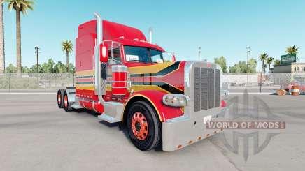 Скин Red Baby на тягач Peterbilt 389 для American Truck Simulator