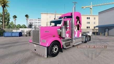 Скин Nico на тягач Kenworth W900 для American Truck Simulator